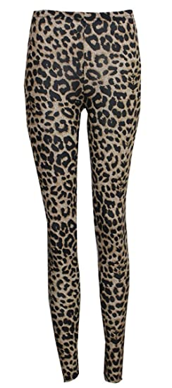 Baleza - Leggings - Animal Print - para Mujer Marrón marrón Small