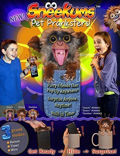 William Mark 311 Sneekums Pet Pranksters, Get Ready, Hide & Surprise (Discontinued by manufacturer)