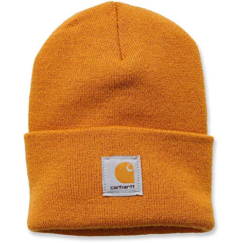 Carhartt Men's Acrylic Watch Hat A18, Gold, One Size -