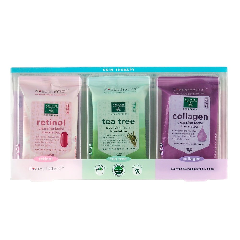 Makeup Remover Wipes Collagen by earth therapeutics #6