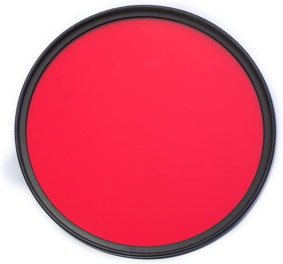 Medical Photography 77mm 590nm IR Filter Infrared Infra-Red Optical Grade Filter for Camera Lens Suitable for Crime Detection