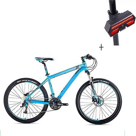 095c2a6ec2d Huoduoduo Bike, Mountain Bike, 26 Inch 30 Speed Disc Brake Aluminum  High-End Off-Road Vehicle, Bicycle Turn Signal [Energy Class A]