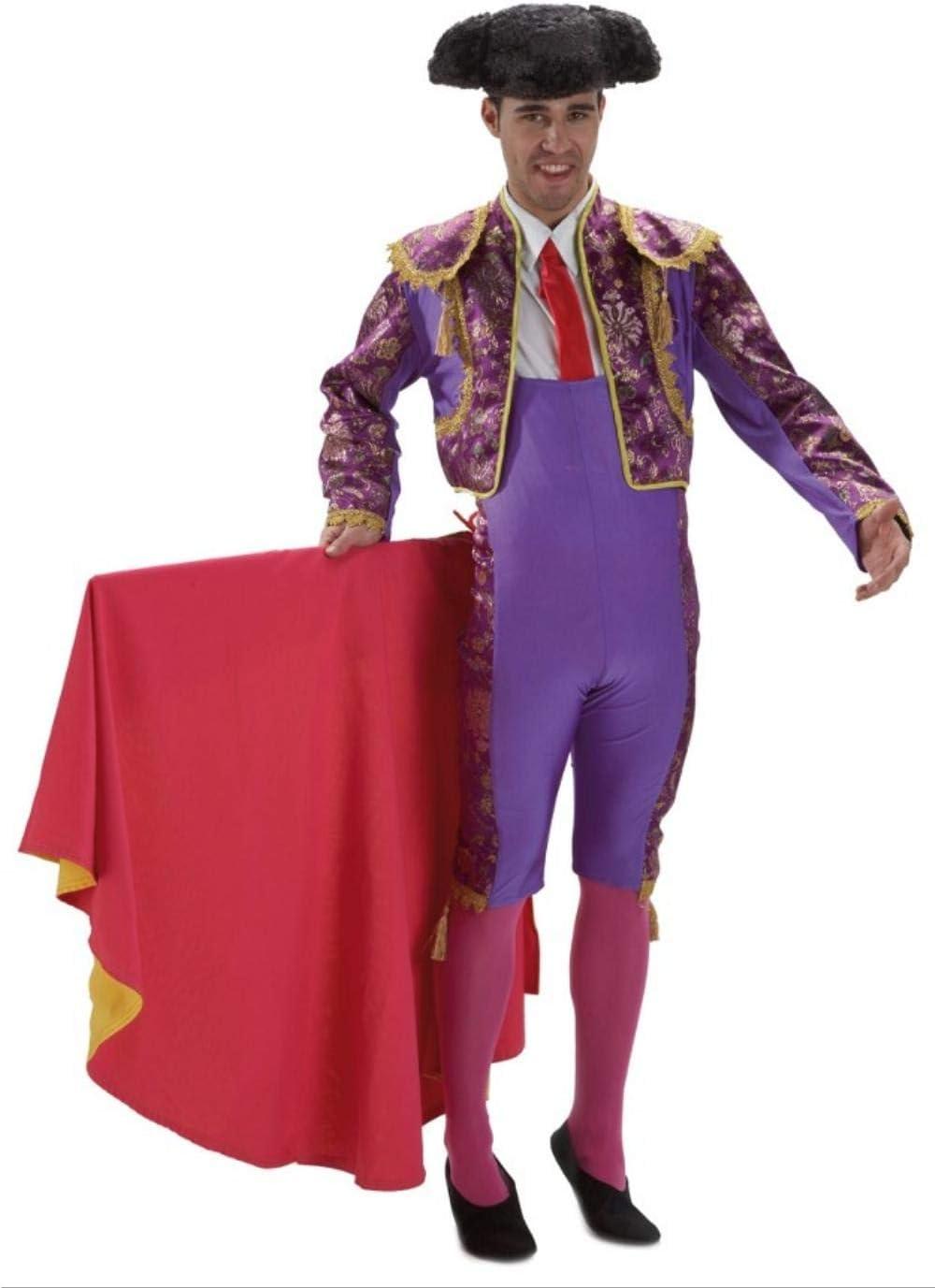 Disfraz de Torero Morado Talla Única: Amazon.es: Juguetes y juegos