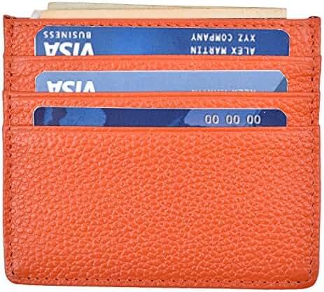RFID Blocking Front Pocket Wallet Slim Wallet Minimalist Wallet Thin Card Holder
