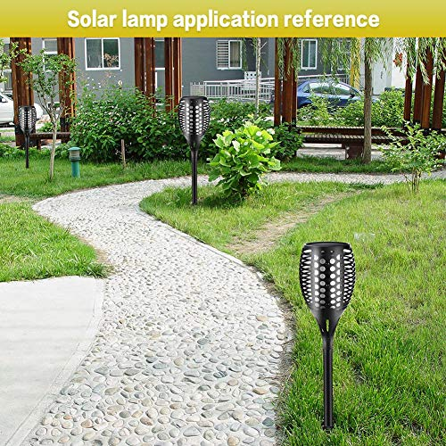 LianLe Solar Torch Lamp Flame Light, Solar Flame Atmosphere Lamp,Waterproof 96LED Landscape Lawn Lamp for Garden Fence by LianLe (Image #4)