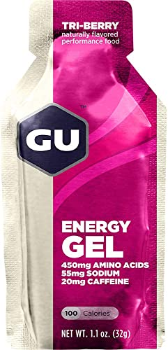 GU 1.1 oz. Energy Gel Triberry Sgl One Size