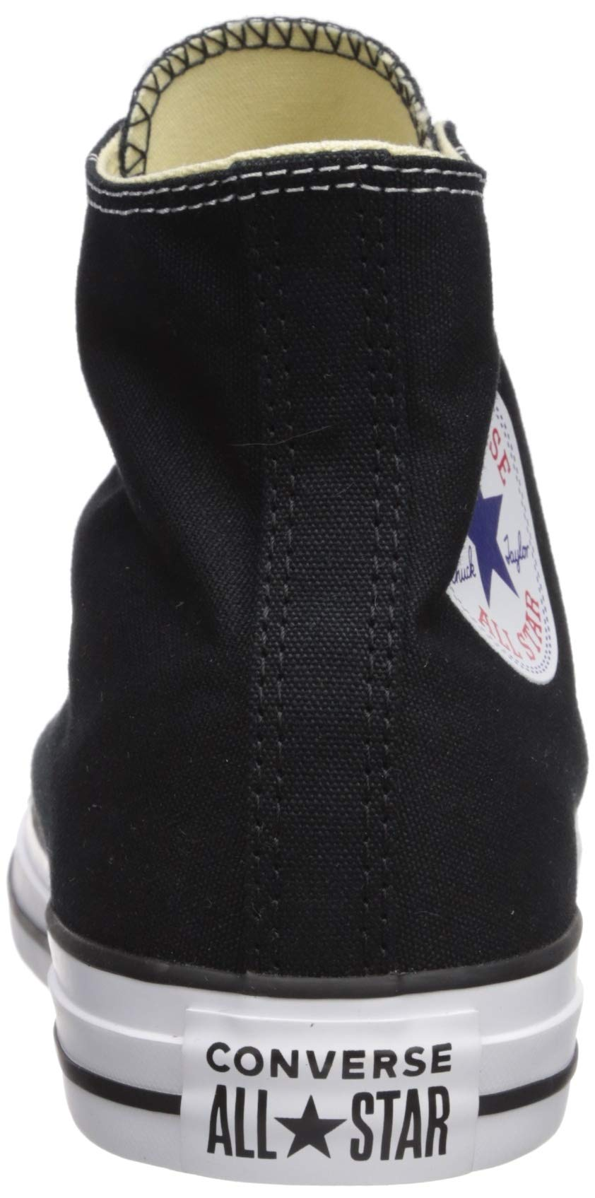 Chuck Taylor All Star Canvas High Top, Black, 4 M US by Converse (Image #2)