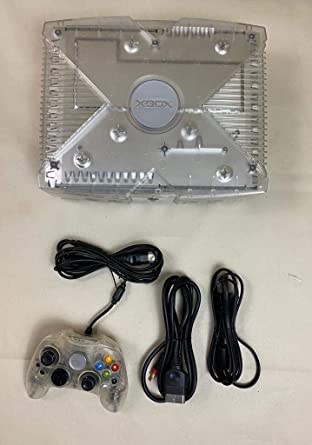 Xbox Console - Limited Edition Crystal Version