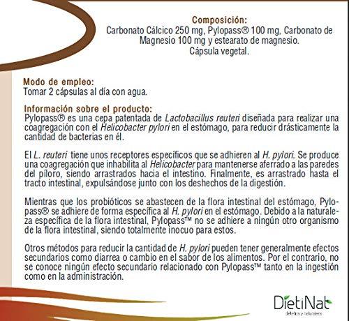 Pyloprotect/Pylopass® 100 mg/ 90 cps: Amazon.es: Salud y cuidado personal