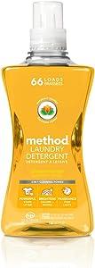 Method Laundry Detergent, Ginger Mango, 53.5 Ounces, 66 Loads