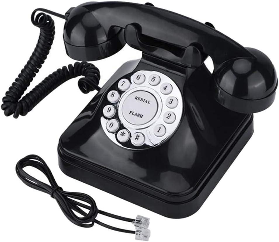Tubayia Vintage Corded Telephone Non-Slip Landline Phone for Home Office