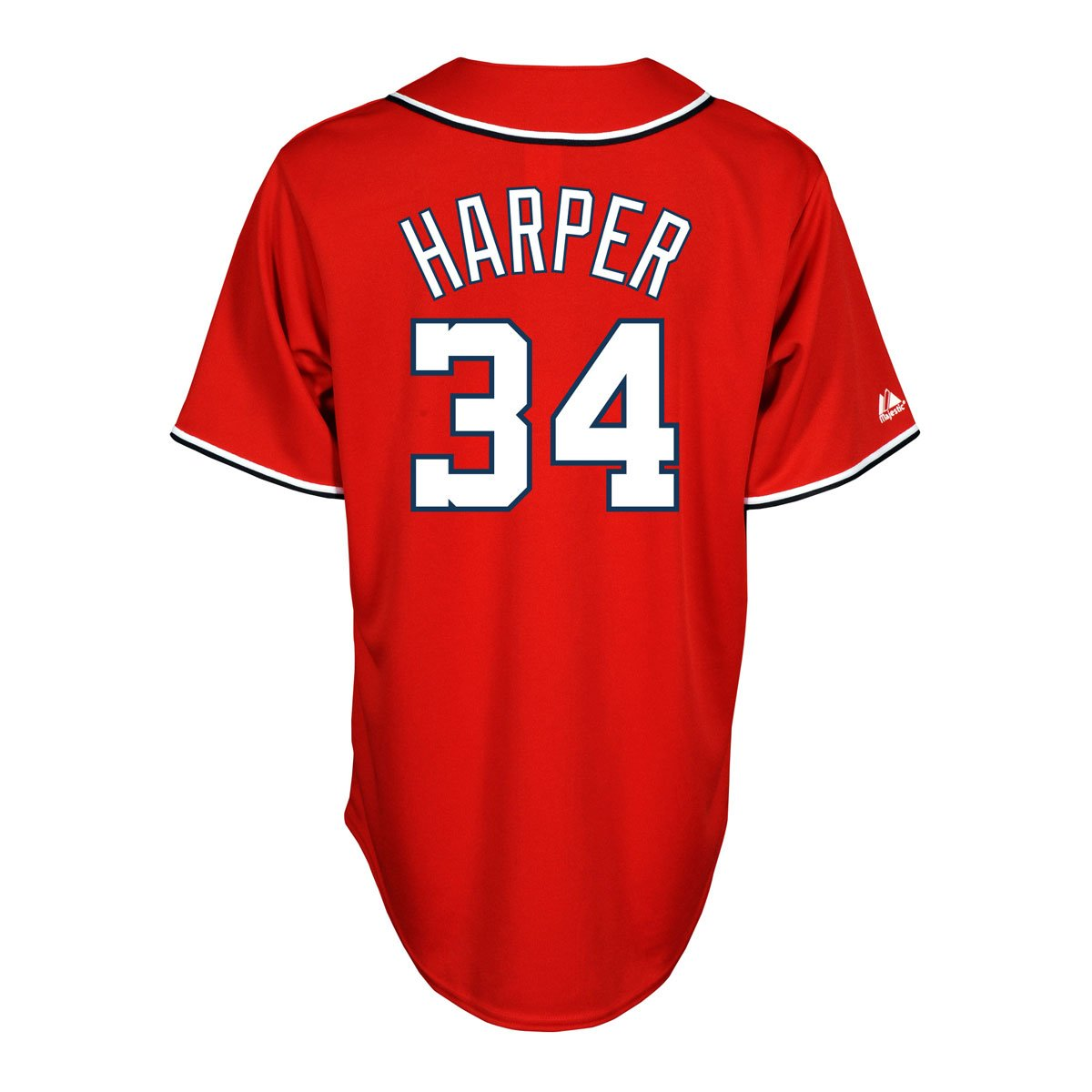 promo code d2e38 d773c Bryce Harper Jersey: Washington Nationals Adult Alternate Red #34