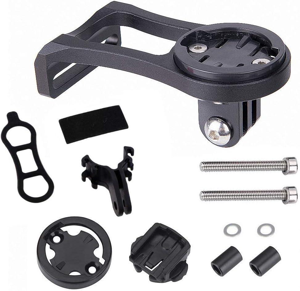 JT Soporte de aleación de aluminio para bicicleta, soporte de extensión para cámara deportiva | Cronómetro | GPS