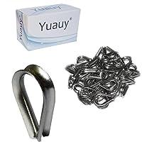 Cuerda de alambre de acero inoxidable Yuauy, dedales