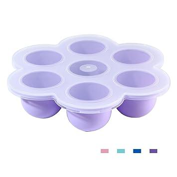 Amazon.com: Aolvo Moldes de silicona para huevos, bandeja de ...