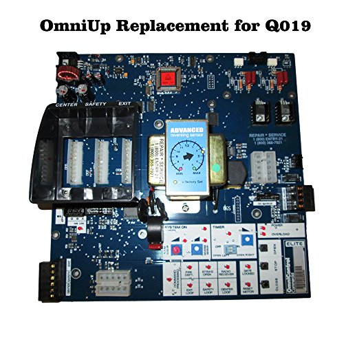 Replacement Board - OMNIUP kit Upgrade for Q019 Circuit Board - For Elite Gate Opener by Elite (Image #1)