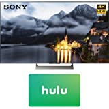 Sony XBR-49X900E 49-inch 4K HDR Ultra HD Smart LED TV (2017 Model) with Hulu 25 Dollar Card