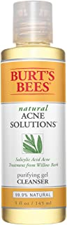 product image for Burt's Bees Natural Acne Solutions Purifying Gel Cleanser, Face Wash for Oily Skin, 5 Oz