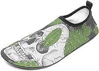 Chaussures de bain tête de mort 3