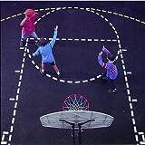Jaypro Sports Basketball Court Stencil