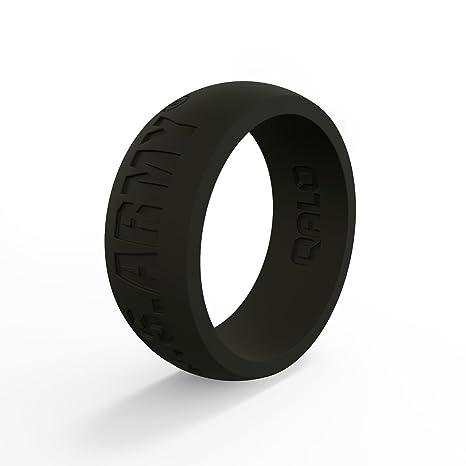 3083210a2204 qalo- silicona anillos para Men- seguro boda banda anillo de goma ...
