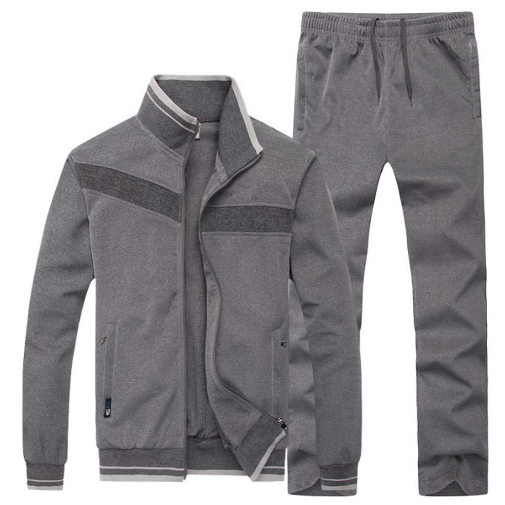 Lilongjiao Sport und Freizeit Sportbekleidung Männer Sportbekleidung Anzug Sportbekleidung Fitnesskleidung Laufbekleidung Trainingskleidung Zweiteiler