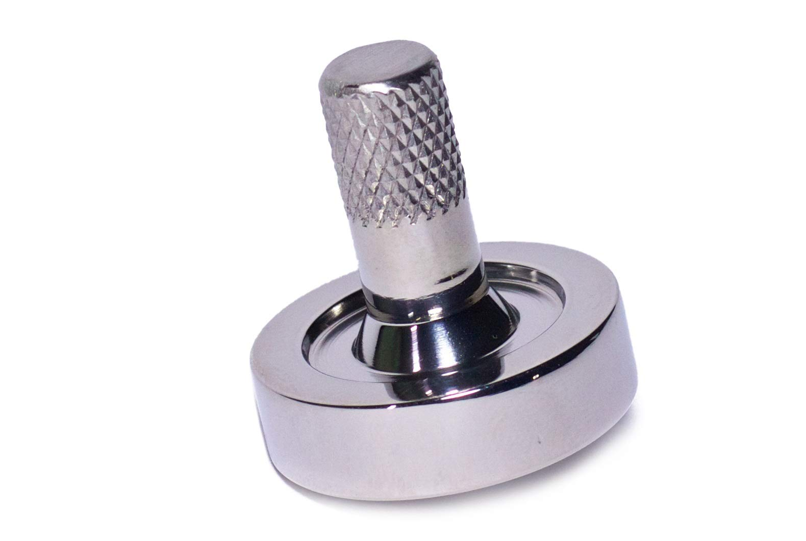 Bruce Charles Designs Schulte Stainless Steel Metal Spinning Top | EDC Desk Toys for Office for Adults and Kids | Unique Gift by Bruce Charles Designs