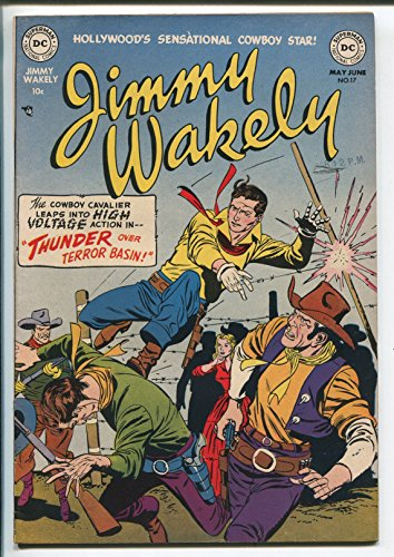 JIMMY WAKELY #17-1952-DC COMICS-B-WESTERN Big name-GIL KANE-KIT COLBY-vf+
