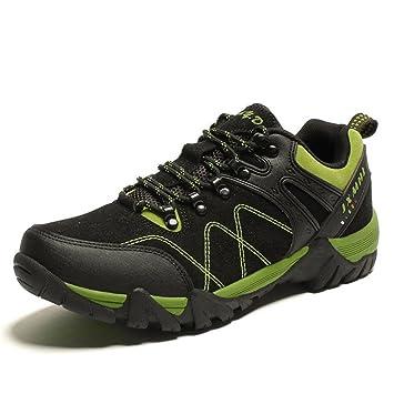 Hommes randonn¨¦e chaussures de randonn¨¦e en plein air sports hiver imperm¨¦able , Dark green , 38