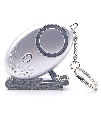 TecPeak Alarma Personal,130dB Llavero Alarma con la LED Luz ...