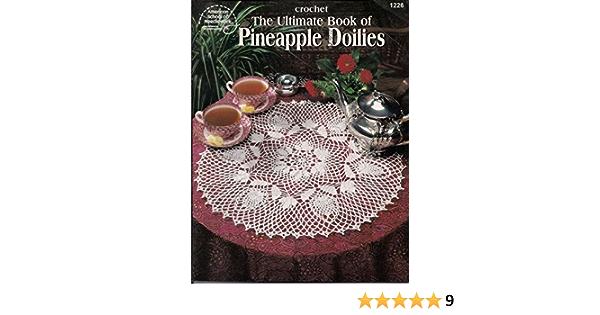 Favorite Pineapple Doilies of Rita Weiss American School of Needlework Vintage Crochet