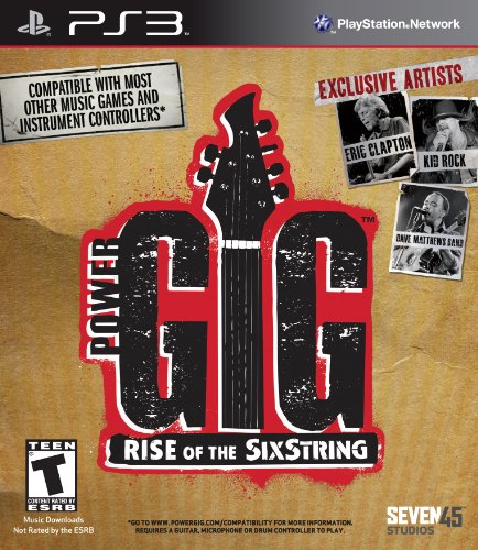 - Power Gig: Rise of the SixString - Playstation 3 (Game Only)