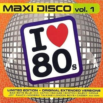 Various I Love 80 S Maxi Disco Vol 1 2 Cd Set Amazon Com Music