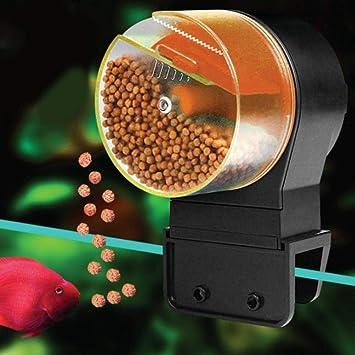 Roful alimentador automático de Peces, alimentador Digital automático para Acuario, alimentador de Tortugas de