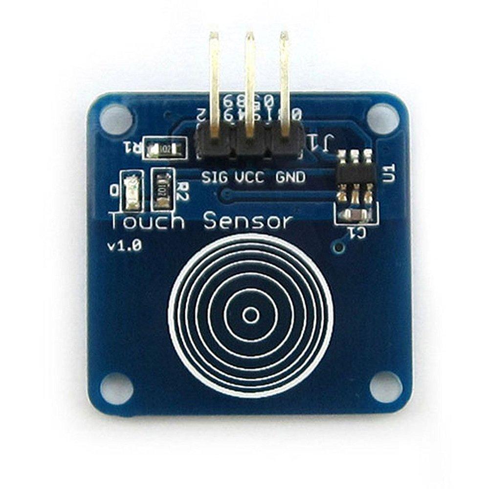 Hiletgo 10pcs Ttp223b Switch Module Digital Touch Sensor Capacitive Circuit For Arduino