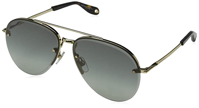 Amazon.com: Givenchy Mujer Aviator anteojos de sol, Dorado ...