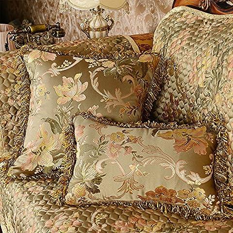 XXCWN-El Luxor Hotel sofa bed pillow pillow cushion,50X50 pillowcase pillow core,Greyish green - Luxor Cushion