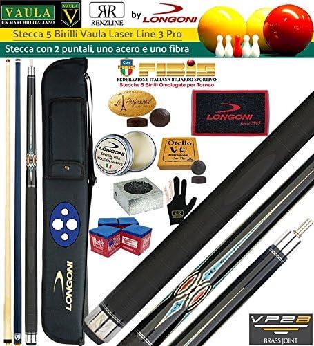 Longoni Vaula Laser Taco 2pz. cm.141,5 Pro 3, con doble punta arce y punta