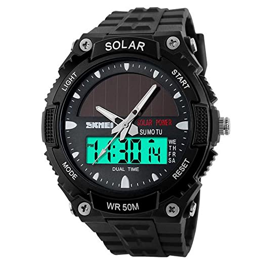 69d7bdcee74f Hiwatch Relojes Deportivos Impermeable 54 ATM para los Chicos Reloj de  Pulsera Digital a Prueba de Agua con Gran Esfera Negro  Amazon.es  Relojes