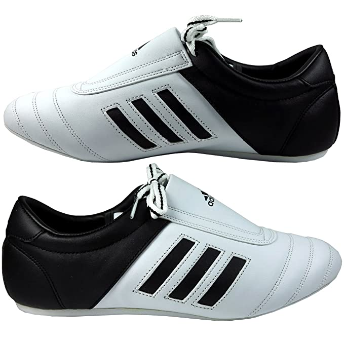Adidas Adi Kick Training Shoes White Black