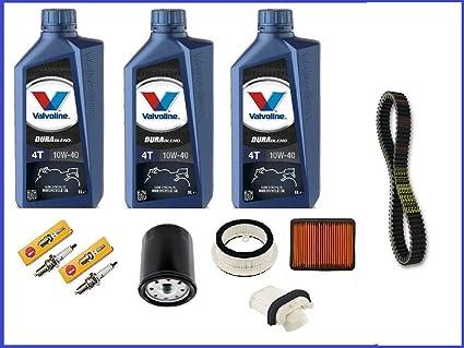 Kit de revisión Yamaha T-Max 500 2008-2010 3 litros de aceite de ...