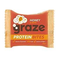 Graze Honey & Oats Protein Bites 30g (Pack of 15)