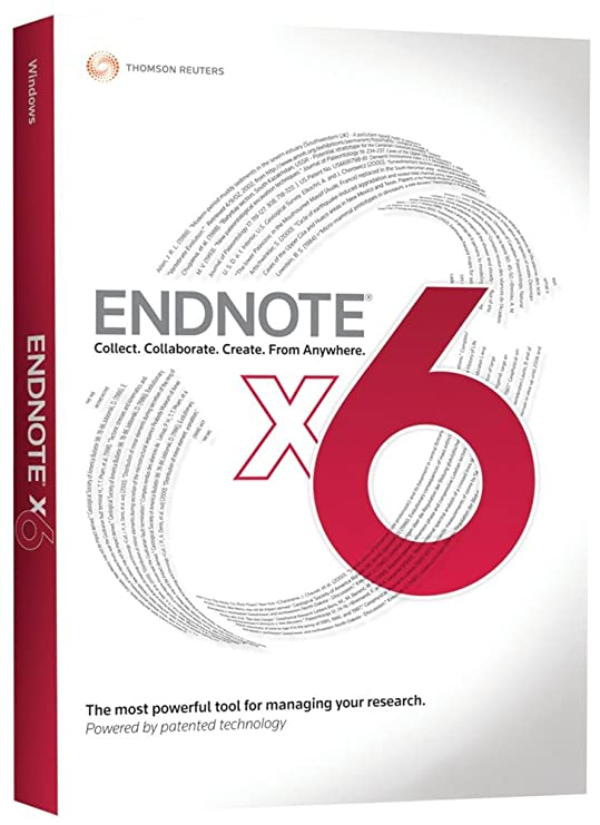 Amazon Thomson Reuters Endnote X6 Full Version Old Version