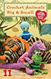 Coats Crochet & Floss Clark Books, Super Saver Crochet Animals Big and Small