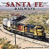Santa Fe Railway 2019 Wall Calendar