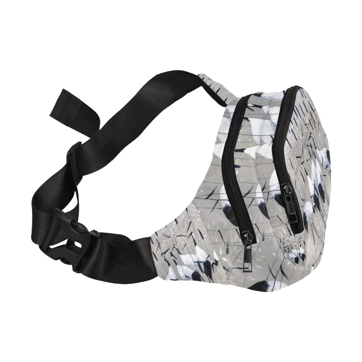 Decorative Oriental Pattern Fenny Packs Waist Bags Adjustable Belt Waterproof Nylon Travel Running Sport Vacation Party For Men Women Boys Girls Kids