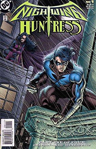 Nightwing and Huntress #1 VF/NM ; DC comic book