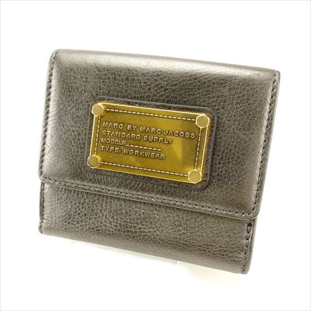 マークジェイコブス MARC JACOBS Wホック財布 メンズ可 中古 セール 良品 T14115   B07R67C1SC