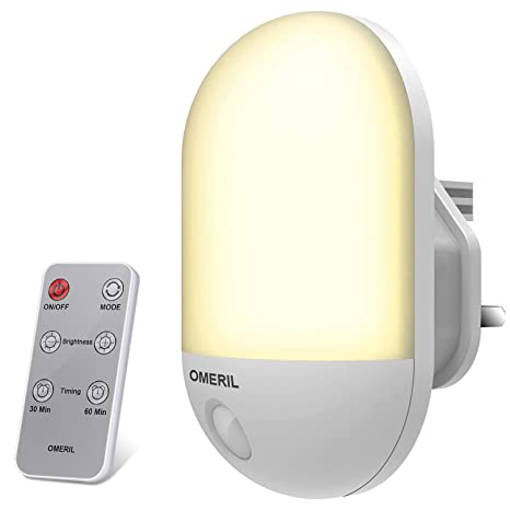 5m Remote Control Mini Led Sleep Lamp For Baby Child Energy Saving Bedside Smart Wall Sleep Light Self Defense Supplies