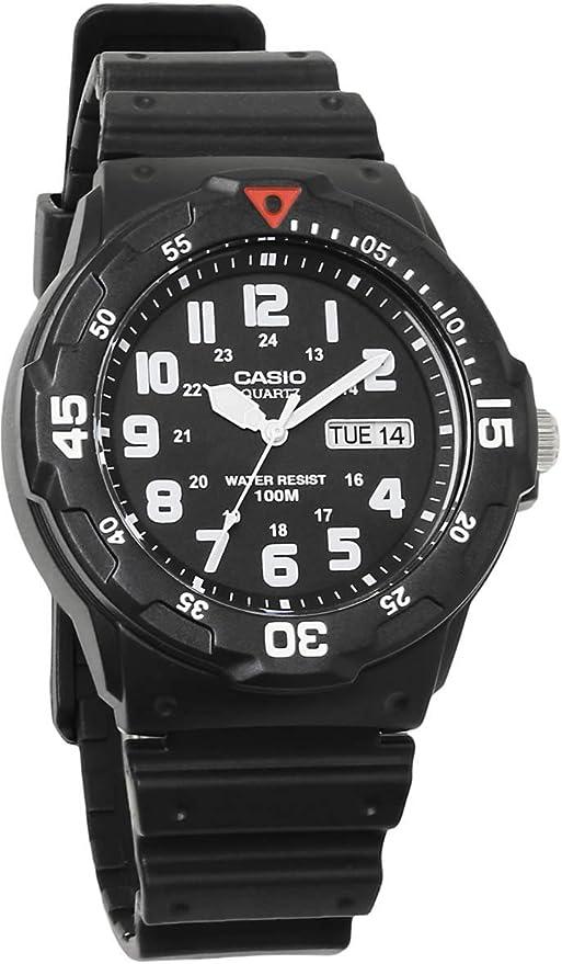 [カシオ]CASIO チプカシ 腕時計 アナログ チープカシオ ダイバーズウォッチ風 メンズ MRW-200H-1B ウレタンベルト [並行輸入品]